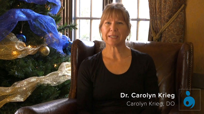 Testimonial from Dr Carolyn Krieg
