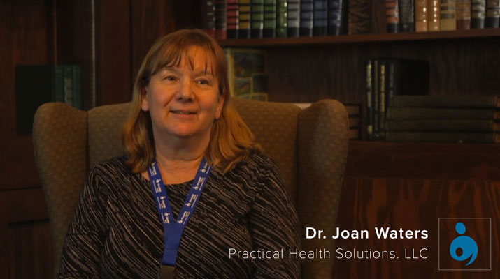 Testimonial from Dr Joan Waters