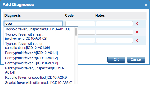 Search ICD 10 Codes