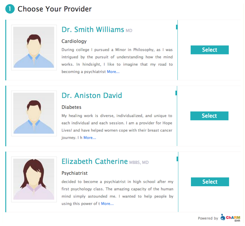 Choose Your Provider
