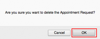 Delete Appointment