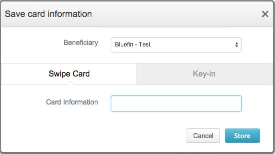 Save Card Info