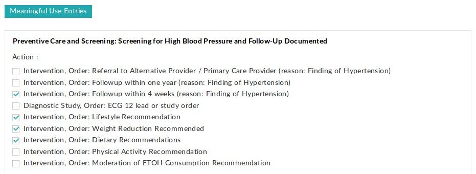 High Blood Pressure Screening