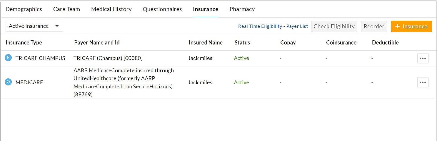 Add Insurance