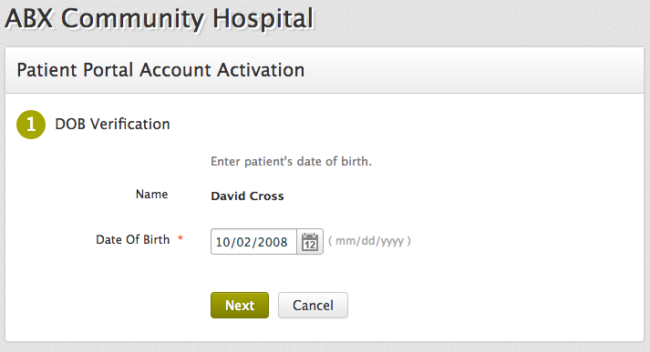 Adding Family Members To Your PHR Account
