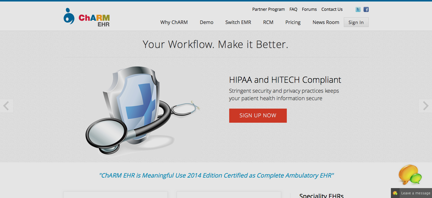 Getting Started with ChARM EHR